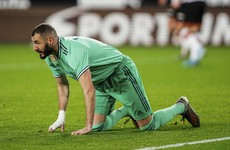 Benzema salvages Madrid draw with Clasico looming