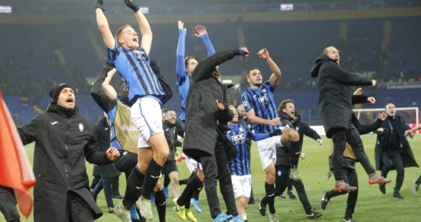 Atalanta book knockout place after miraculous Champions ...