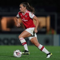 Katie McCabe scores a hat-trick as Arsenal put nine past the Bees