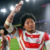 Rugby fans mob Japan's Brave Blossoms at victory parade