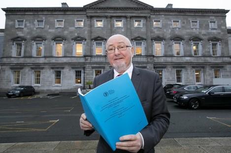 Committee Chairman, Caoimhghín Ó Caoláin launched the report today.