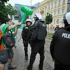 Photo: Irish supporter clashes with Polish riot police