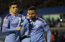 Jesus admits struggling with the weight of expectation at Man City