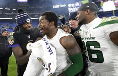 Jackson leads Ravens past Jets to clinch AFC North title