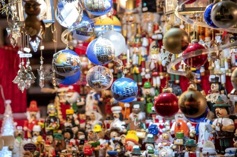 File photo of Christmas decorations in Germany.