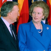 New details of Thatcher and Haughey meeting show how British PM was against German reunification