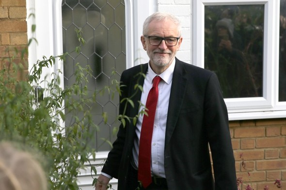 Jeremy Corbyn refuses to be drawn on departure date despite party pressure to quit immediately