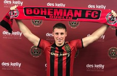 Bohemians welcome back Prodigal Son Casey as they confirm signing from Cork