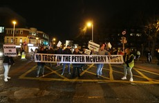 Roads reopen and delays expected as housing protest finishes in the centre of Dublin