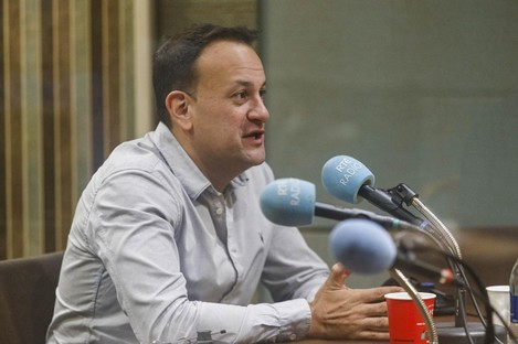 Taoiseach Leo Varadkar on the Marian Finucane show this morning.