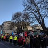 Three arrested after anti-racism, free speech protests outside Leinster House