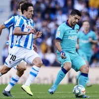 Barcelona slip up ahead of El Clasico with draw against Real Sociedad