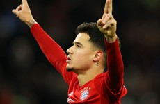 Hat-trick hero Coutinho gets champions back on track in 6-1 rout