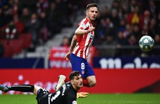 Atletico close gap on Barca with first La Liga victory in over a month