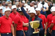 Emotional Tiger leads celebrations as USA pull off Presidents Cup comeback