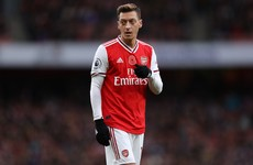 Chinese State TV pulls Arsenal match after player's comments on treatment of Muslims