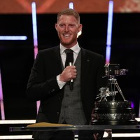 Ben Stokes wins the BBC Sports Personality of the Year award