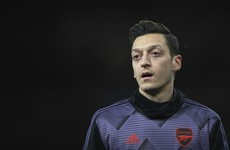 China says Mesut Ozil 'deceived by fake news'