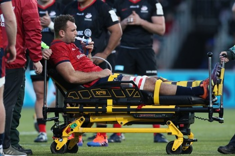 Cruel luck: Beirne is to go under the knife.