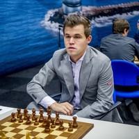 The world's best chess star has become the top fantasy football player on the planet