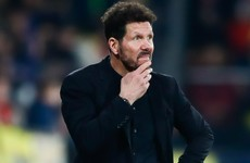 Klopp: I don't think Mr Simeone is happy he got Liverpool