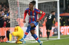 Zaha stunner seals point for Palace as they move to ninth in Premier League