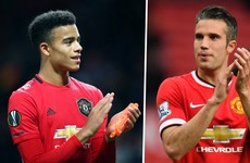 Van Persie on Greenwood: 'Every game he tries to copy me'