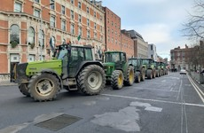 'Very heavy delays' as beef farmers return to protest in Dublin city centre