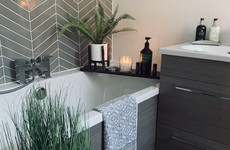 'The tiler hated me for the chevron design': Joanne shares her newly renovated bathroom