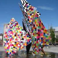 Galway hooker statue is 'yarnbombed'