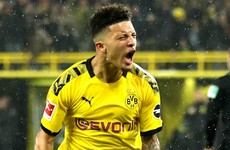 Sancho breaks 51-year Bundesliga record as Dortmund draw with league leaders