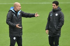 Guardiola expects swift decision on Arteta future after Arsenal talks