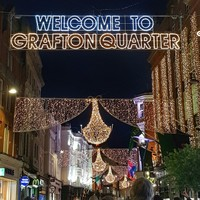 Dublin City Council boss wants 'Grafton Quarter' sign replaced next Christmas after public outcry