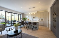Bright new apartments and detached homes in upmarket Glenageary