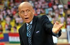 Ukraine shot was a goal, admits referee's chief Collina