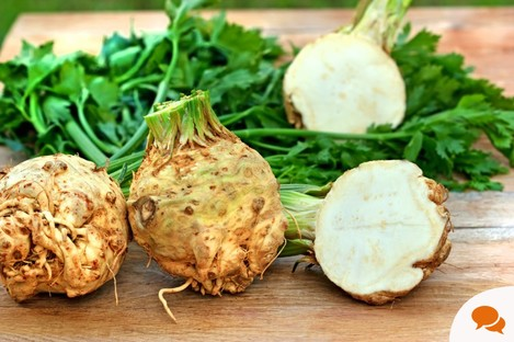 Celeriac is an underrated root vegetable.