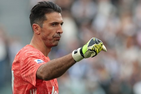 Juventus goalkeeper Gianluigi Buffon.