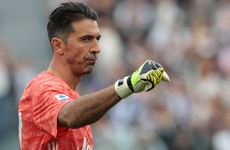 Another milestone in an incredible career as Buffon equals Maldini's record