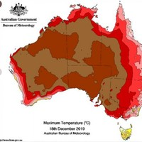 Australia has its hottest day on record again - increasing it by a full degree