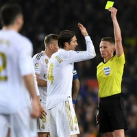 Ramos questions use of VAR as Real Madrid are denied 'clear' Clasico penalties