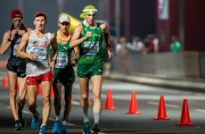'A lot of the guys will keep going until they collapse, I've done it myself' - the agony of 50km racewalking
