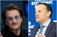 'Great to see you in the snow': Bono wrote to Varadkar praising Global Fund contribution from 'our little island'