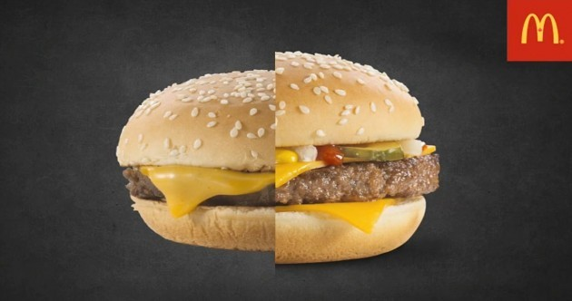 McDonald's answers: why do the burgers look different in the pictures?