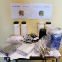 Man (40s) arrested after suspected cocaine worth €160k seized in Co Kildare
