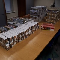 Gardaí seize 34,000 illegally imported cigarettes and tobacco products