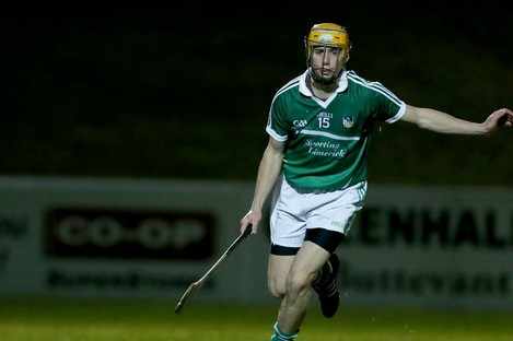 The Na Piarsaigh club man was the scoring star tonight.