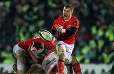 Impressive full Munster debut for the 'small man with a massive heart'