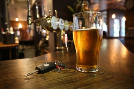 The insurance company has issued a warning about driving the morning after a night of drinking this Christmas.
