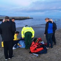 Two people injured after large wave caused 15-foot fall from Wicklow pier