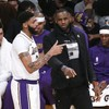 LeBron-less Lakers fall to Denver as injury fears raised about Anthony Davis